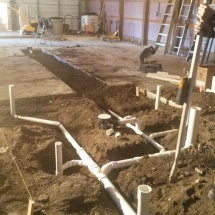completed-roughed-in-drains-and-sewer-lines-for-a-workshop