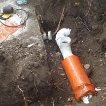 main-sewer-line-cleanout-and-used-insulated-pipe-cause-it-goes-across-a-driveway
