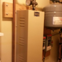 wall-mounted-boiler-system-hooked-up